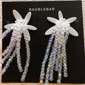 Baublebar Lily Drop Earrings - White